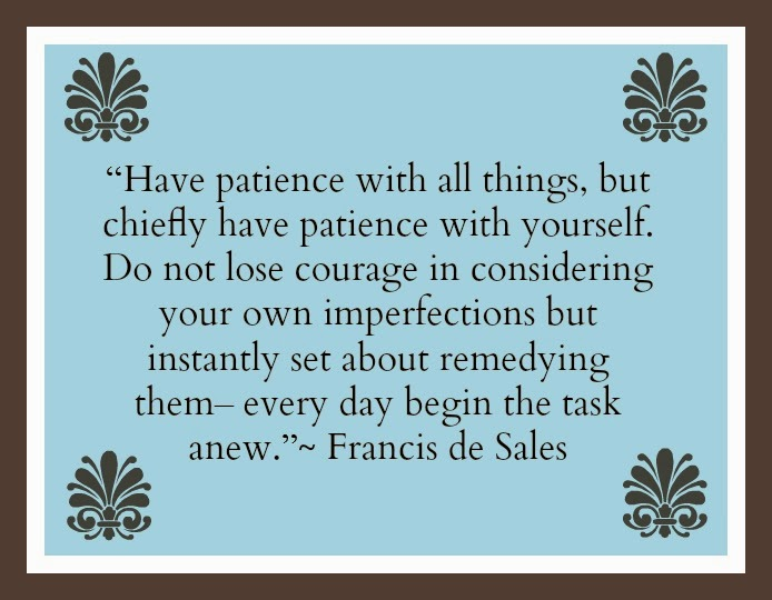 Patience Quote Hickory Ridge Studio