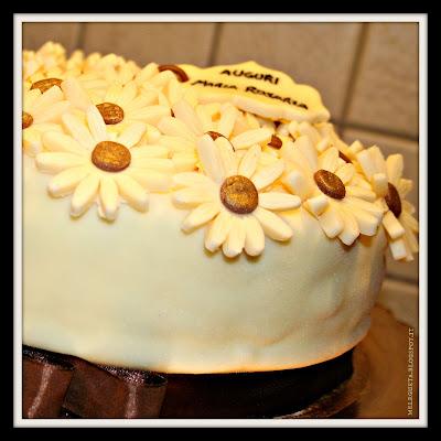 primo piano torta