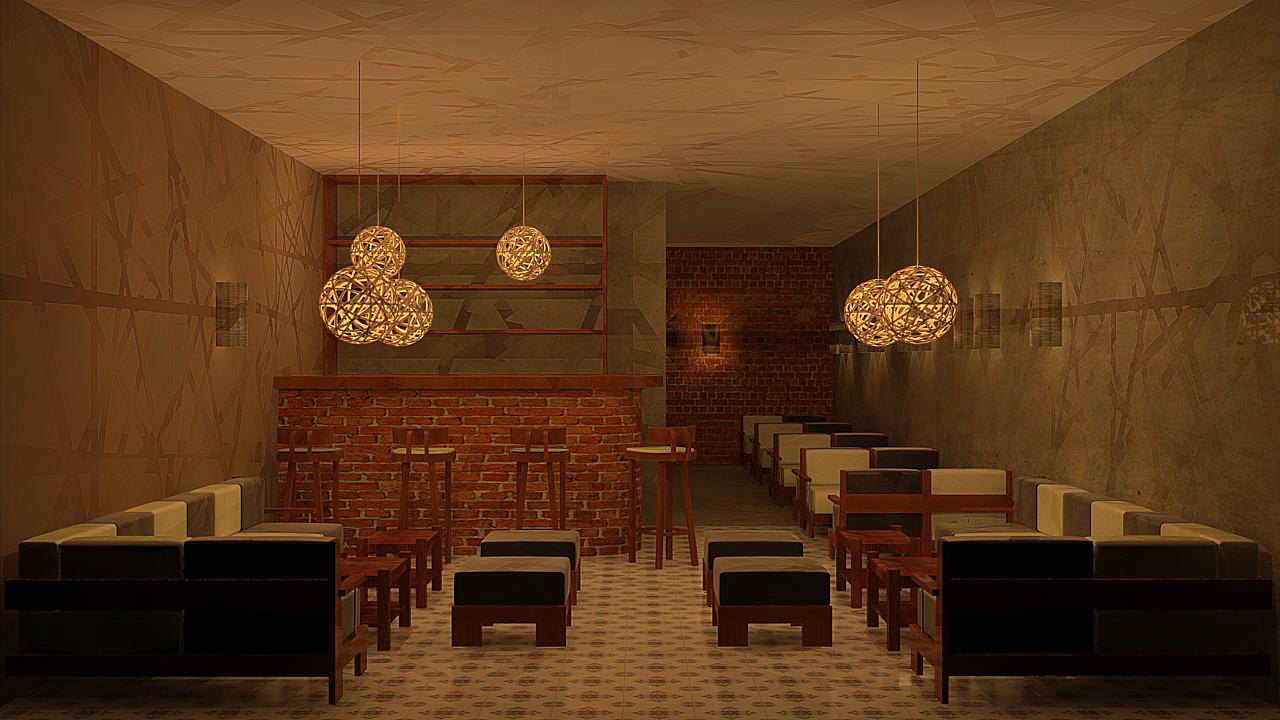 Oniria dise o de barras y bares for Diseno de barras de bar