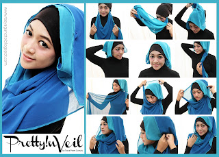 tutorial hijab paris 2013