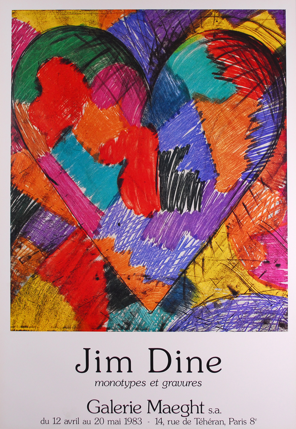 Waitsfield Elementary Art Jim Dine Hearts