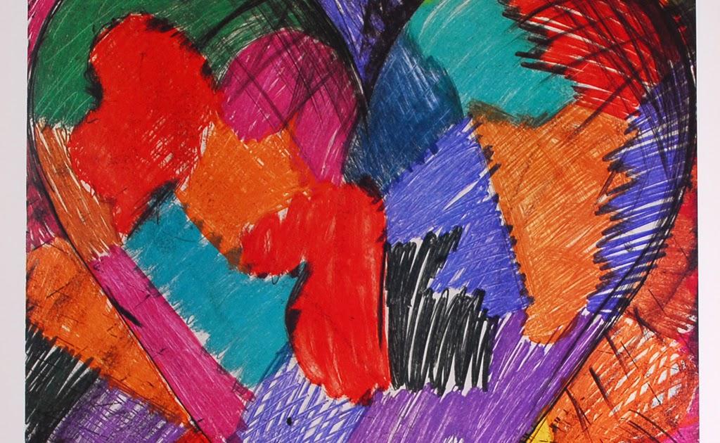 The Lost Sock Jim Dine Valentine