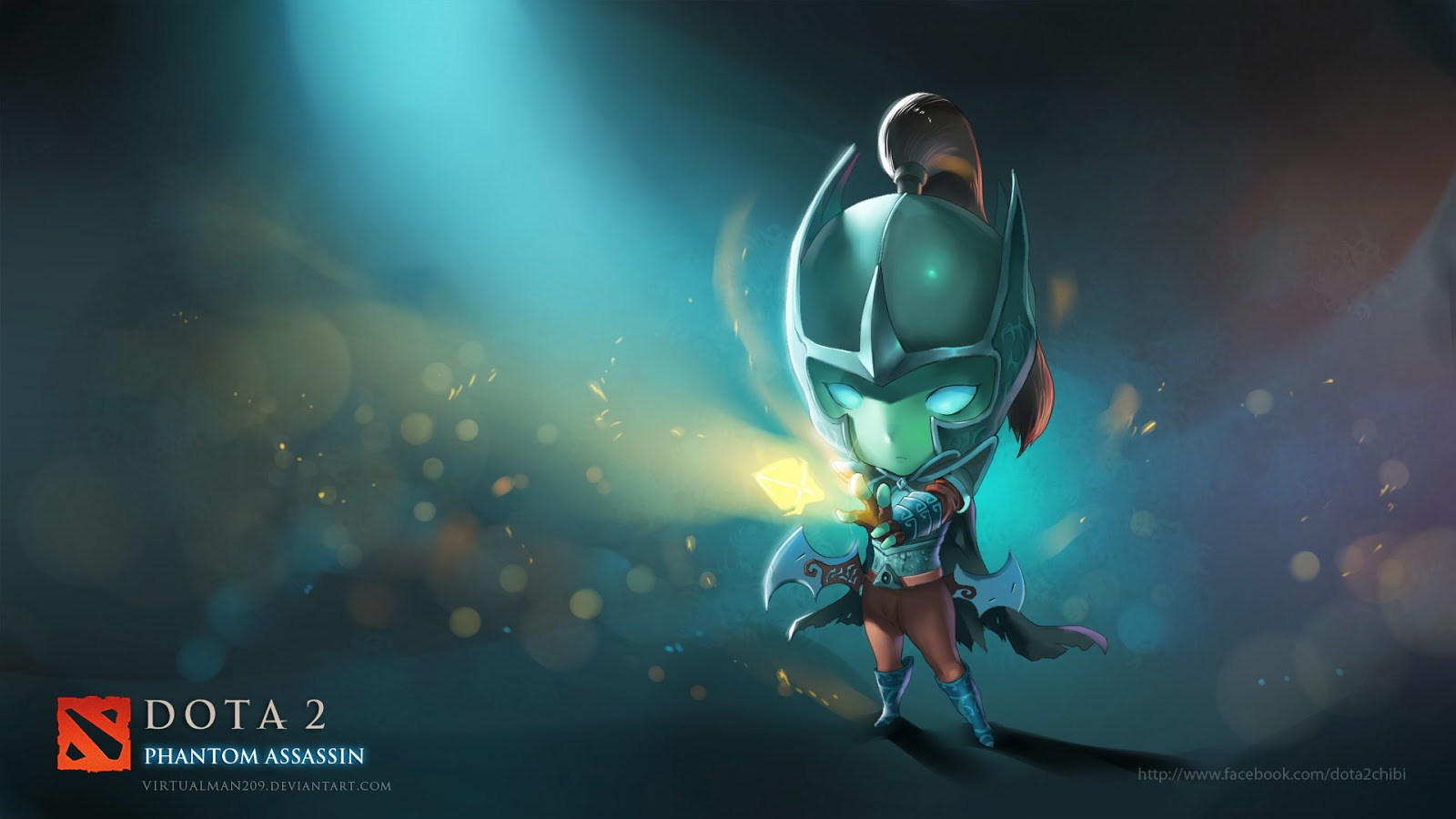 Mortred Dota 2 Phantom Assassin l2 Wallpaper HD