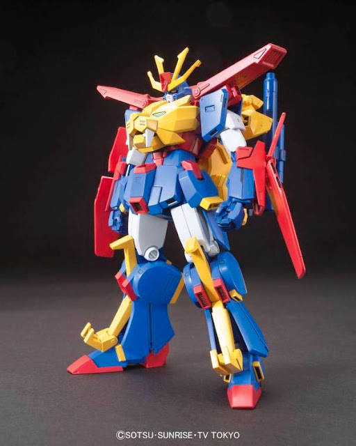 gundam tryon build fighters try