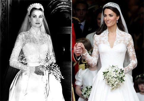 Grace kelly wedding dresses for Princess grace wedding dress