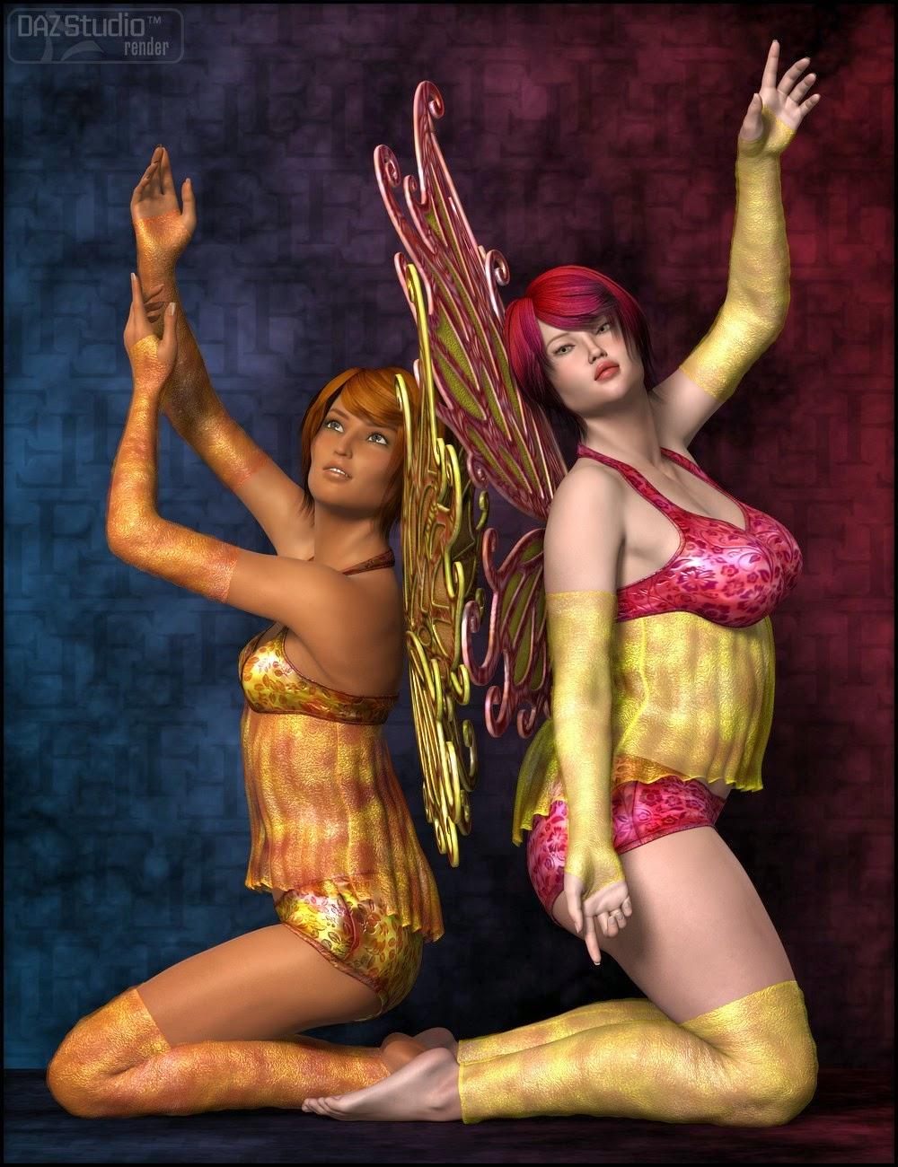 Four Seasons Faylinn Outfit pour Genesis 2 Femme