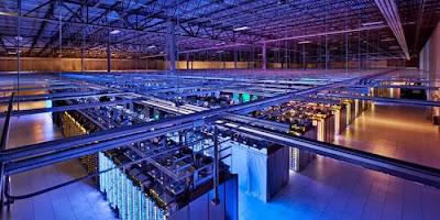 Las granjas de servidores de Google