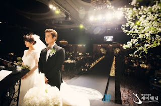wonder girls sunye wedding ceremony pictures