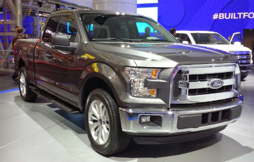 image of ford 150 grey