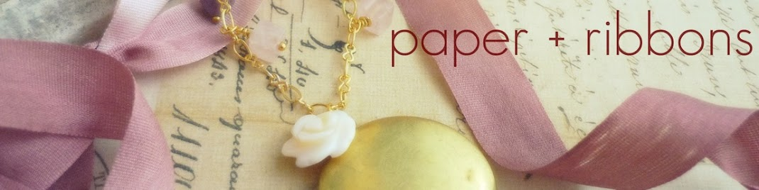 Paper + Ribbons Jewelry Designs