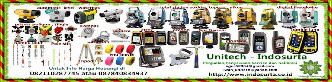 Alat-alat survey dan pemetaan makassar
