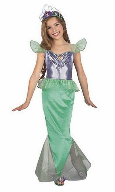 Thanks mail carrier girls costumes for dress up fun ariel ariel little mermaid costume sciox Choice Image