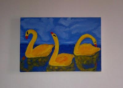 Marlon Leal: quadros do jovem artista plástico