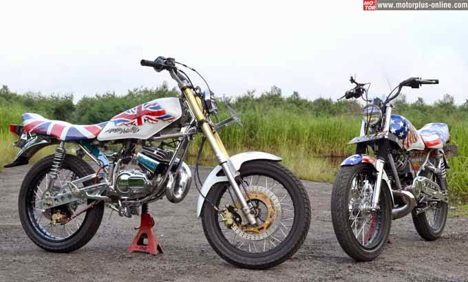 Modifikasi Motor Yamaha RX King - Lihat Modifikasi Motor