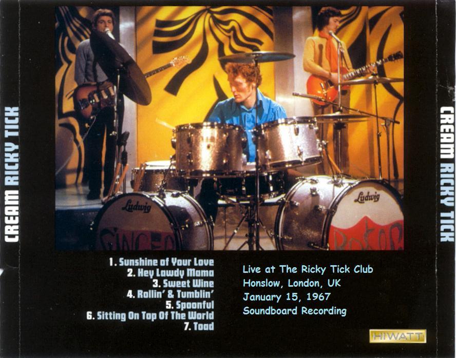 Cream - The Ricky Tick Club : 22 avril 1967 Cream-ricky-tick-back