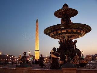 La Plaza de la Concordia de París