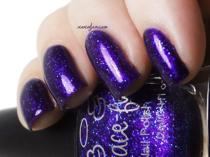 xoxoJen's swatch of Grace-full Purplerazzi