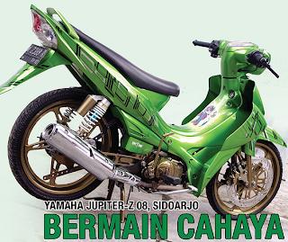Foto Motor Yamaha Jupiter Z Modifikasi