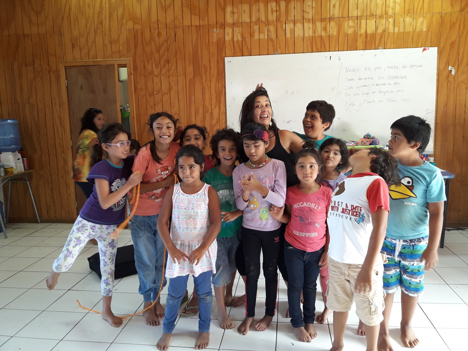 Taller de Teatro para niños. Rapa Nui, 2017