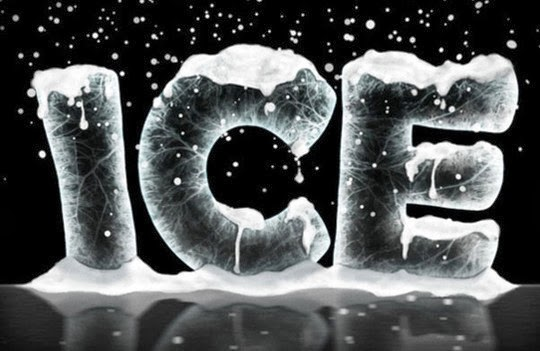 Ice Text Effect with Photoshop