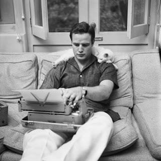 La maquina de escribir de Marlon Brando