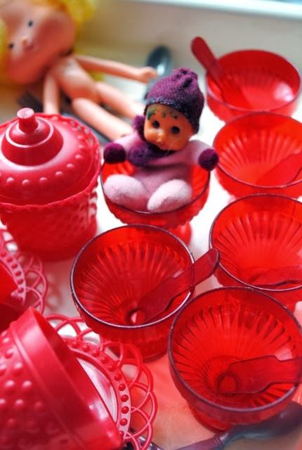 Coleção chá de bonecas