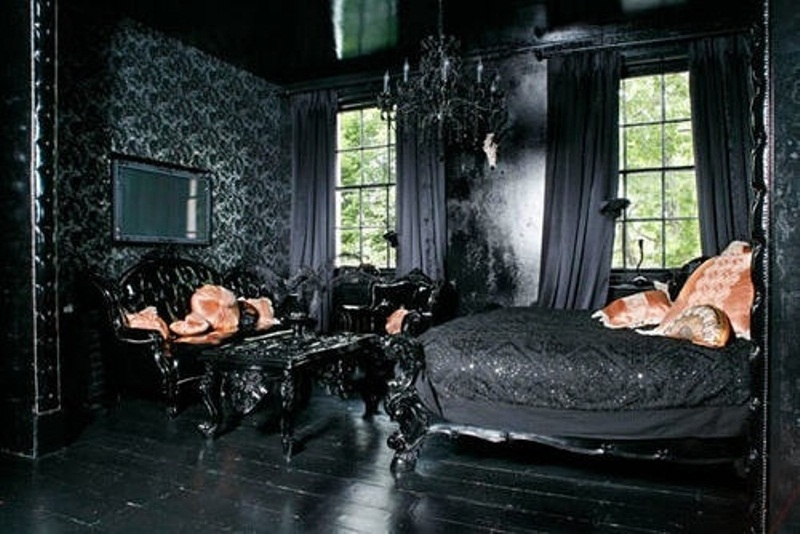 Evolution Home Design: Gothic Bedroom Designs