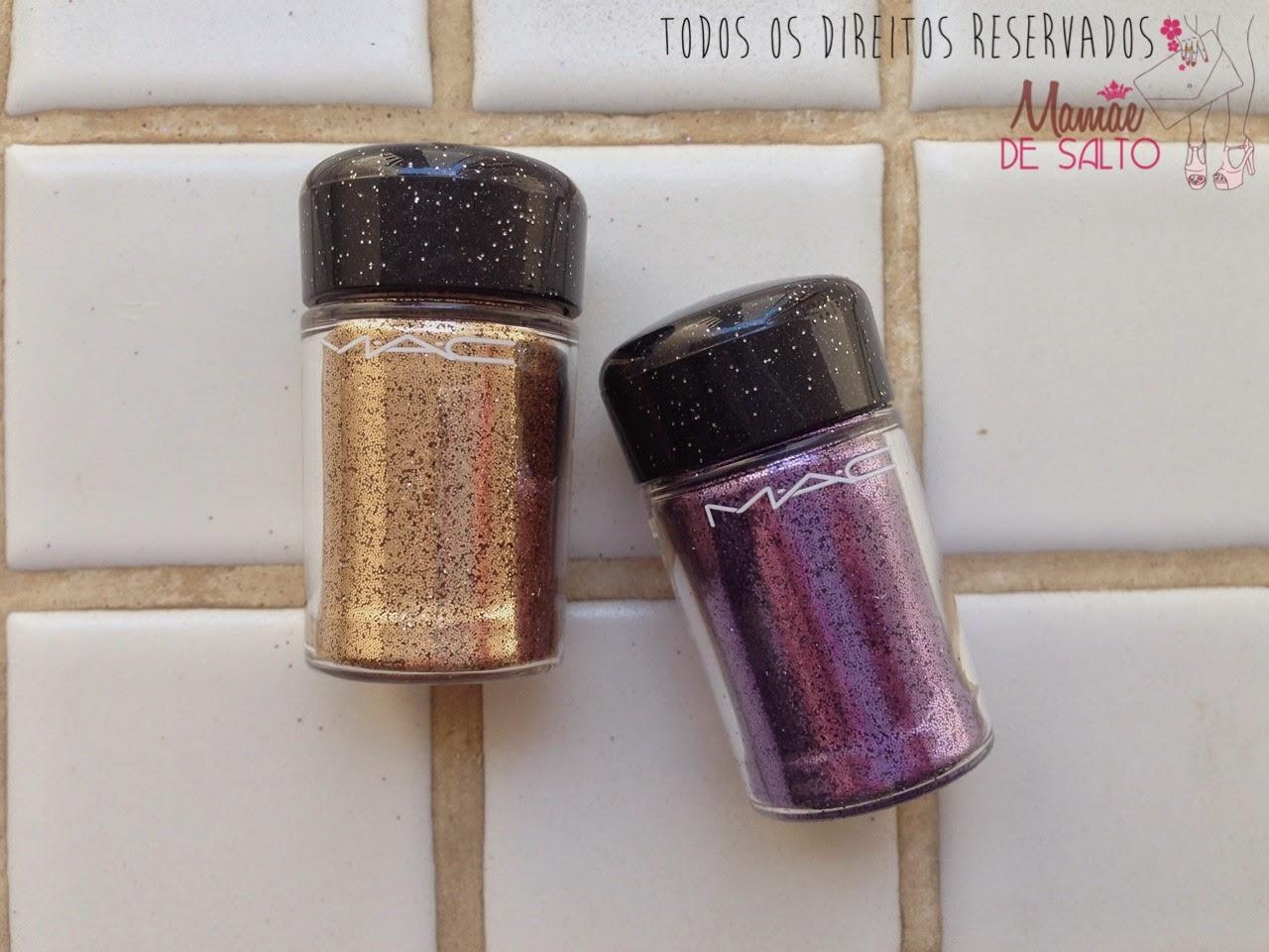 Coleção MAC Heirloom Mix glitter