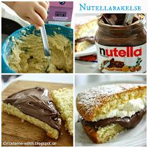 Nutellabakelse - Enkelt att göra :)