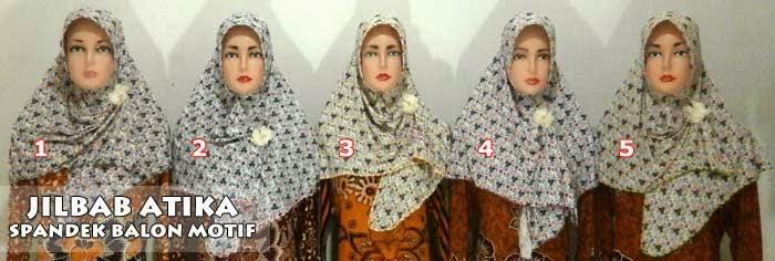 Jilbab instan atika murah meriah