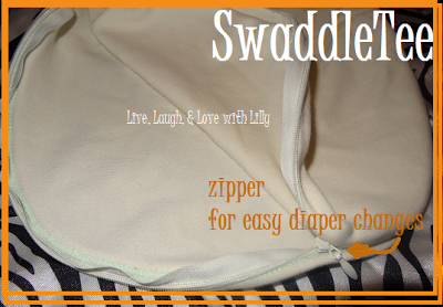SwaddleTee Review, Live, Laugh, & Love with Lilly