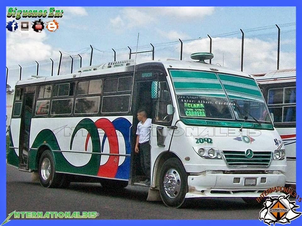 International 315 autotransportes san pedro santa clara for Mercedes benz san pedro