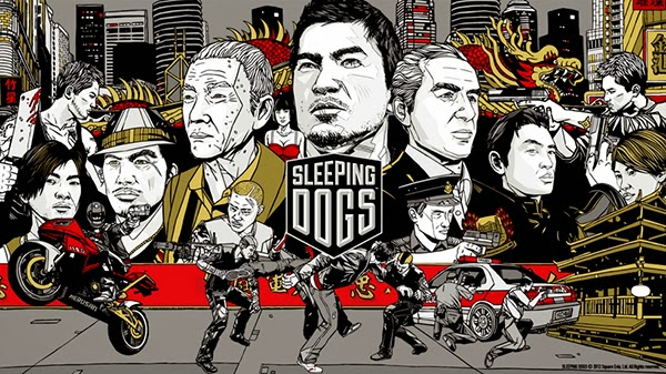 Sleeping Dogs - SKIDROW Cover