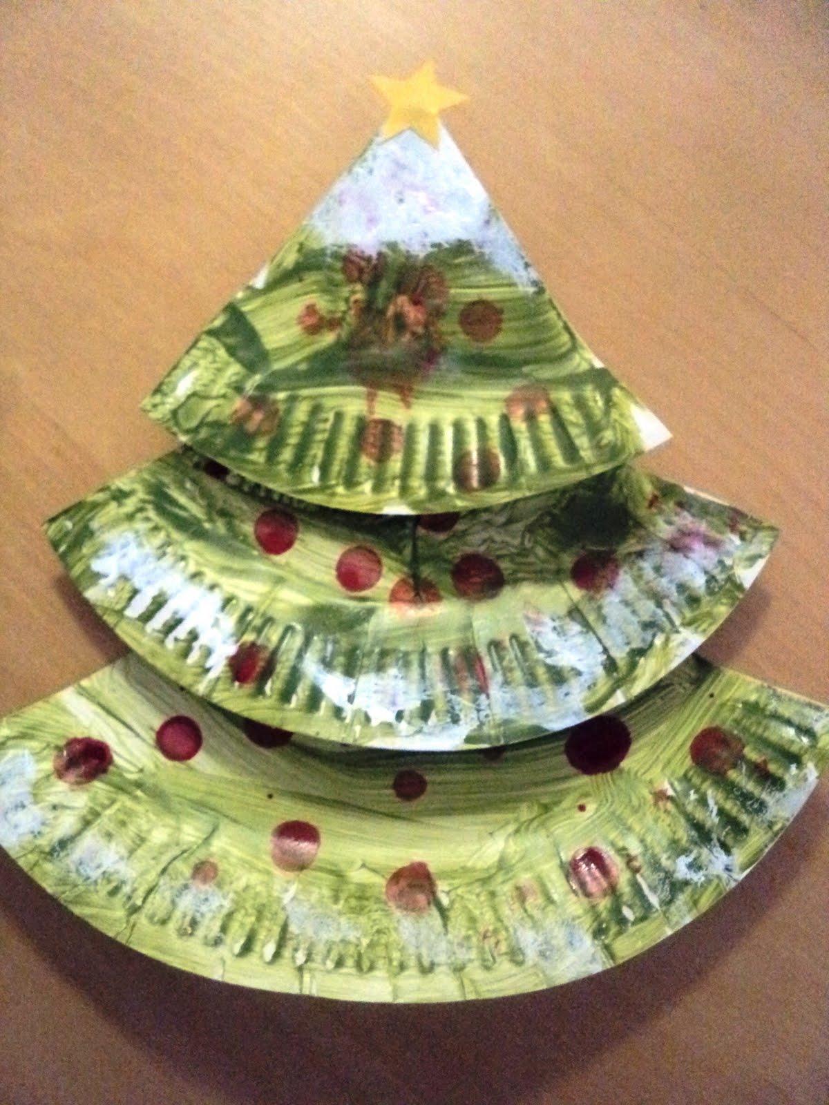 Новогодние поделки своими руками из одноразовой посуды на елку