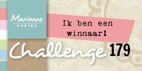 1e prijs gewonnen bij challenge #179