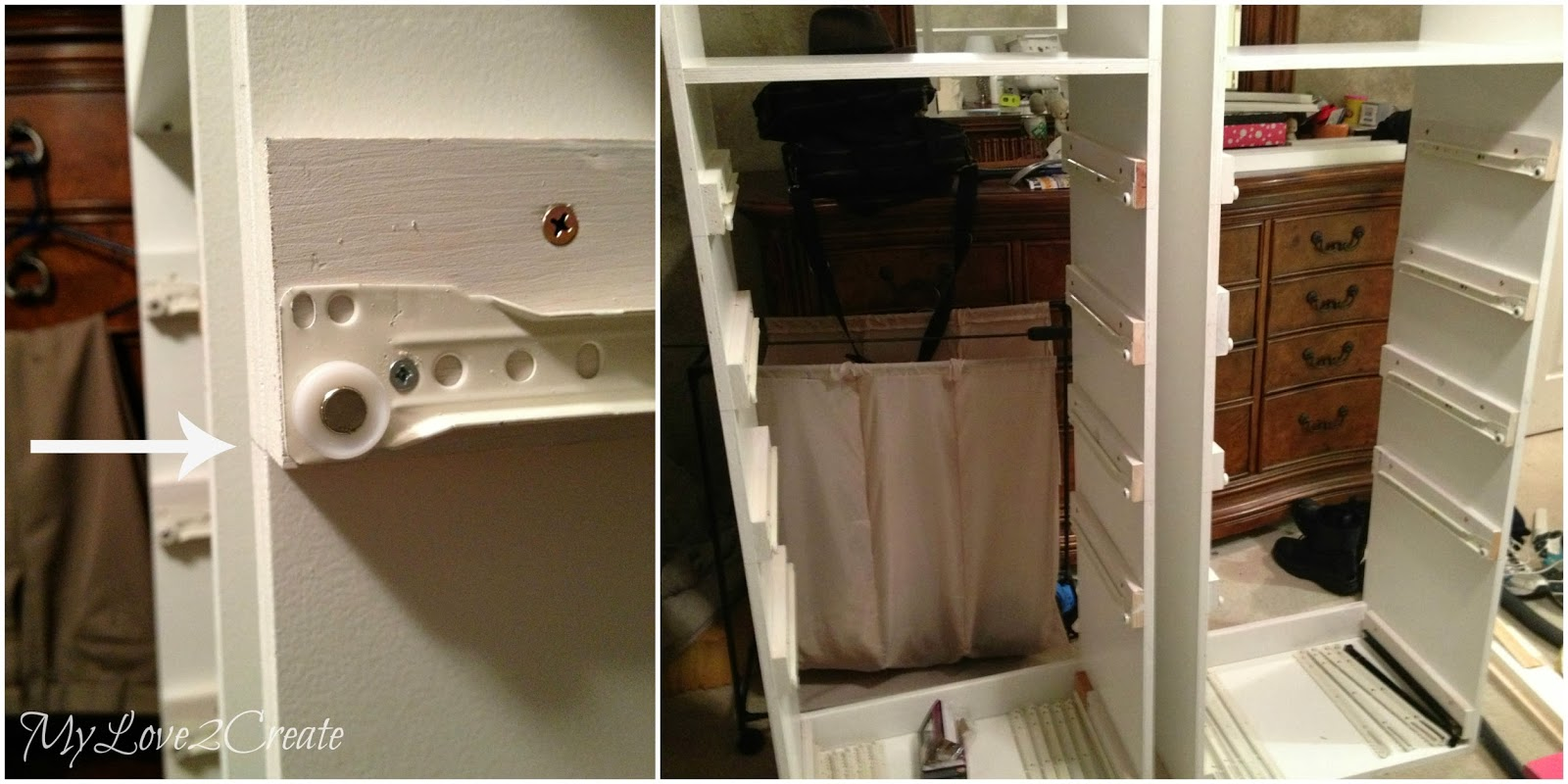 Drawers And Drawer Slides Master Closet Makeover My Love 2 Create. Full resolution  snapshot, nominally Width 1600 Height 800 pixels, snapshot with #20456E.