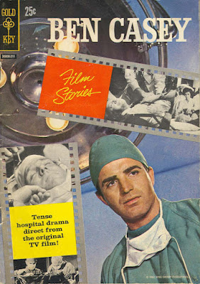 Ben Casey Film Stories cover: 'Tense hospital drama direct from the original TV film'