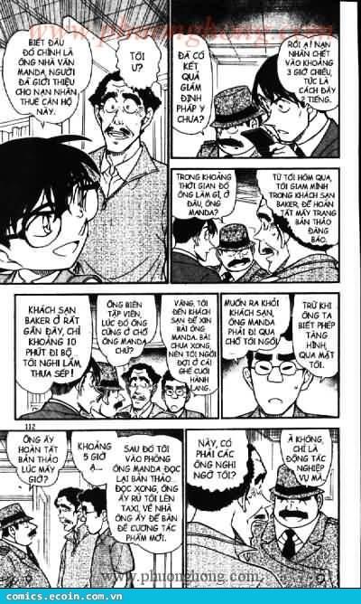 Detective Conan - Thám Tử Lừng Danh Conan chap 539 page 8 - IZTruyenTranh.com