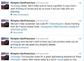 Kimpton San Francisco Twitter