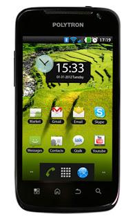 Polytron Wizard W2400 HP Android layar 4 inch harga dibawah 1.5 juta