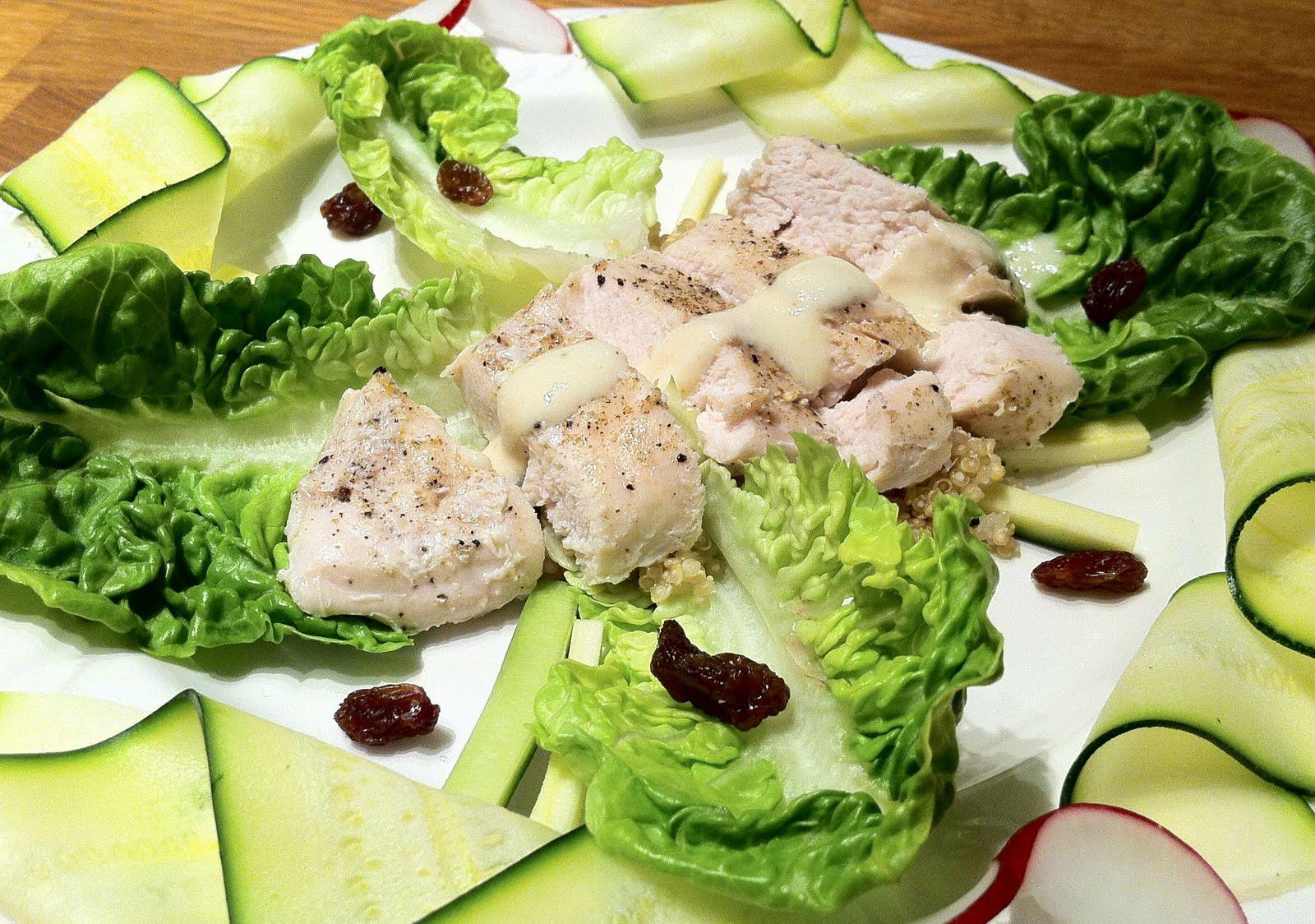 Fleur's Food: Super Healthy Coronation Chicken Salad