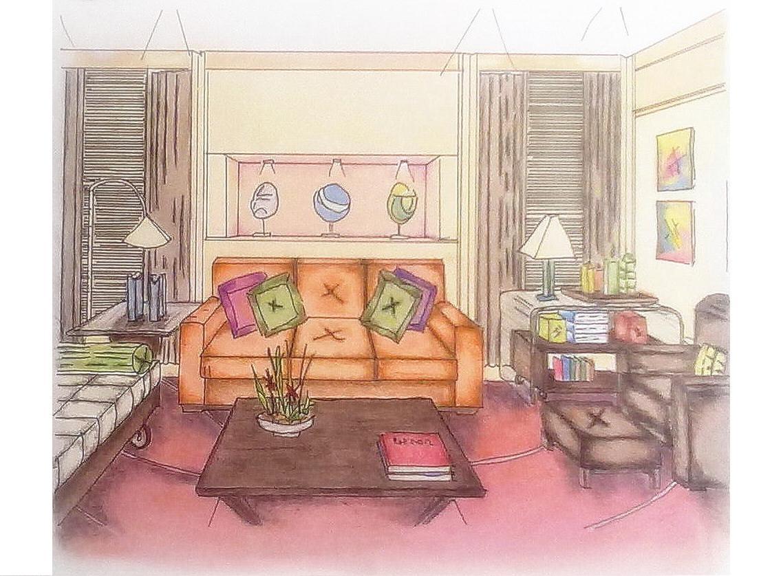Art e design pintura sala de estar for Sala de estar pintura