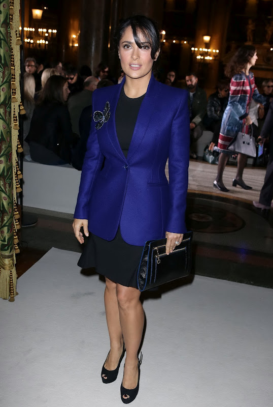Salma Hayek at Stella McCartney Spring / Summer 2013 Show