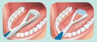 gosok lidah, sikat lidah, kesehatan lidah,kesehatan mulut,  tips kesehatan mulut