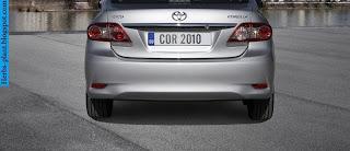 Toyota corolla car 2012 exhaust - صور شكمان سيارة تويوتا كورولا 2012