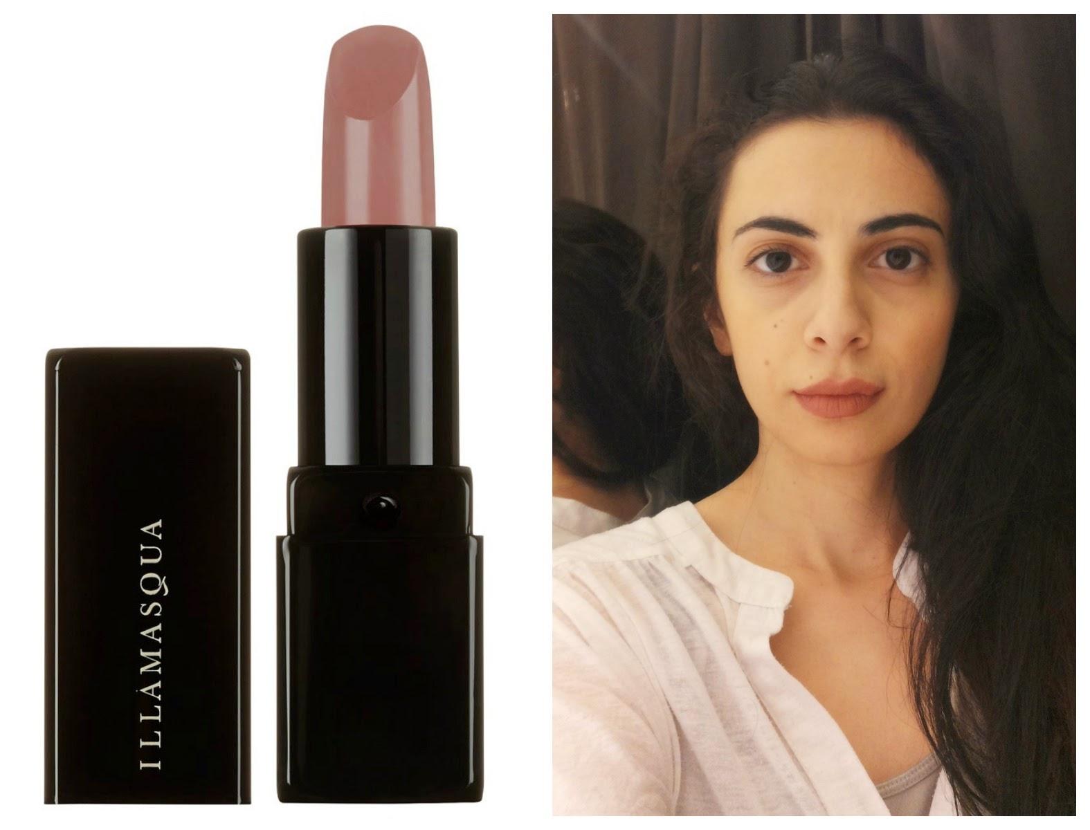 lipstick in bare by illamasqua