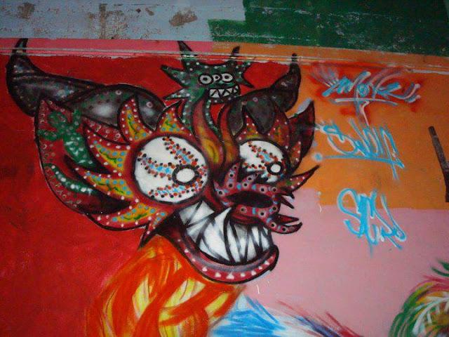La diablada es boliviana - arte latino crew