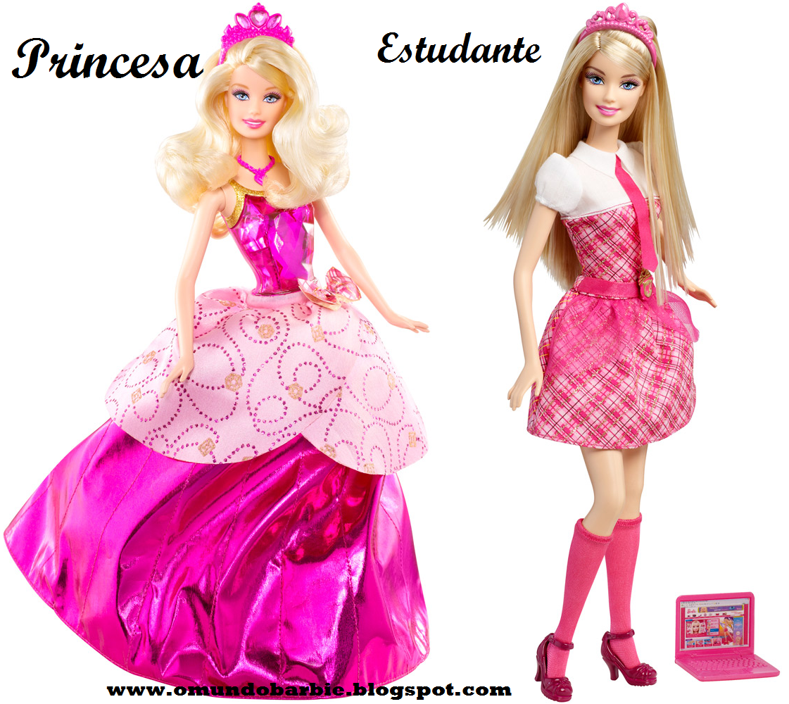 Especial barbie escola de princesas parte 2 bonecas principais