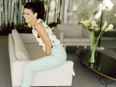 Famous Celebrity Sandra Bullock Wallpaper