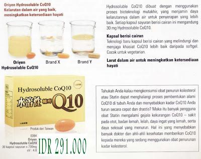 Hydrosoluble CoQ10 Anti Penuaan Untuk Jantung Yang Sehat